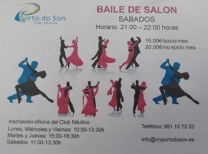 CLASES DE BAILE DE SALON